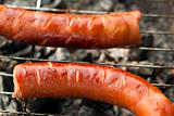 grilled of sausage