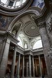 Inside the Pantheon in Paris, France