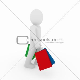 3d man go sale bag