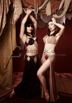 Beautiful Belly Dancers