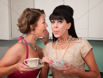 Woman Shares a Secret