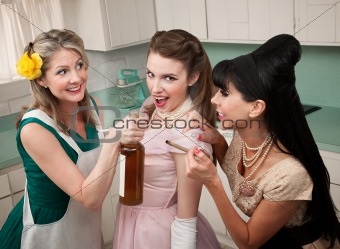 Partying Housewives