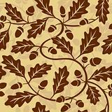 oak leaf acorn