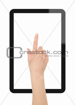 Touch the Tablet PC