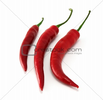 three chili in row