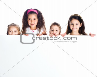 Group of smily kids