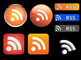 RSS icons and buttons