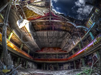 abandoned theatre