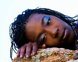 African American Female Portrait Model