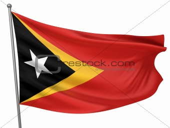 East Timor National Flag