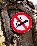 """It is forbidden to smoke a sign"""