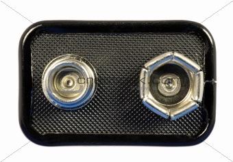 9 volt battery top