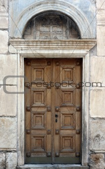 Antique Orthodox Church Door