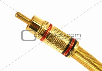 Golden Plated RCA Connector