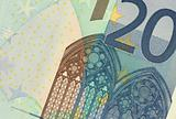 Uncirculated 20 Euro Banknote Close up