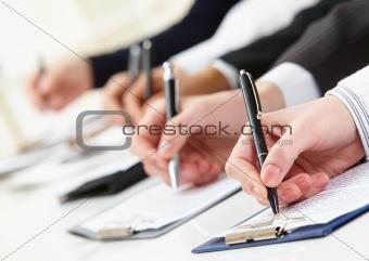Written work