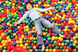 Boy on balls