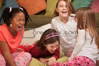 Little Girls Laugh