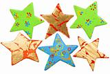 different shape of star, christmas decoration