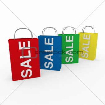 3d sale bags colorful