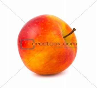 A red-yellow color apple