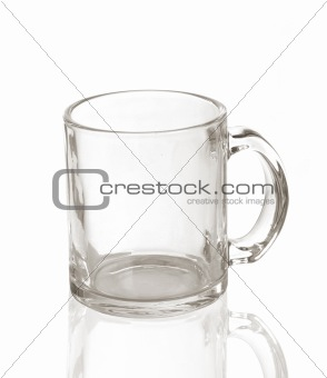 transparent cup
