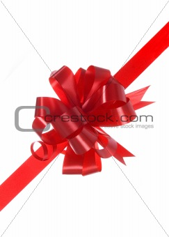 red bow for gift