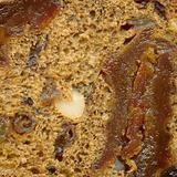 Dark rye bread  texture