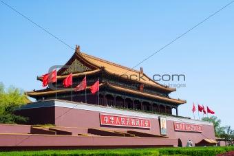 Tiananmen Gate ( Gate of Heavenly Peace), Beijing, China