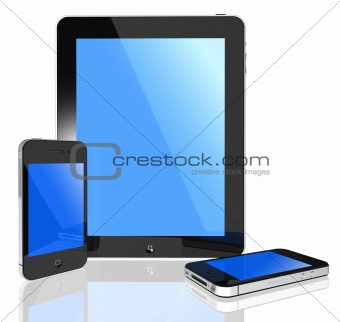Modern touch screen -i pad and phone