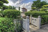 Square Entrance in Chinese Garden