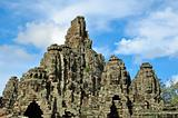 Bayon Temple at Angkor Siem Reap Cambodia