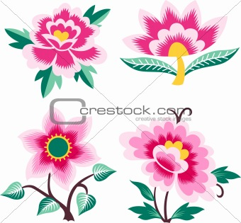 beautiful love flower card