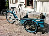Old Norwegian traditional tricycle