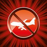 Warning ban flight