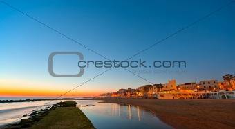 Anzio's harbour