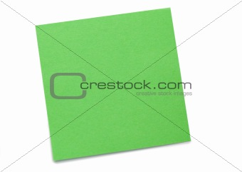 Green post-it