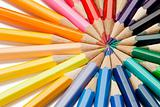 Close-up of  color pencils