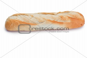 French bread isolated