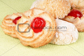 Assorted almond pastries