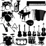 musical instrument  - vector