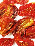 plate of sun dried tomatoes