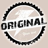 Original grunge stamp