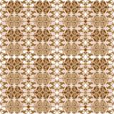 Seamless retro wallpaper, tapestry in brown tones