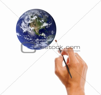 Painting Our Planet