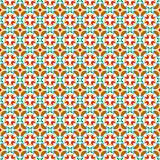 Seamless vector tiles with flower pattern