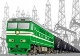 Railway transport of petroleum products