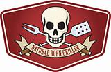 Natural Born Griller Barbeque Logo