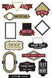 Logo and Label  Vector Set