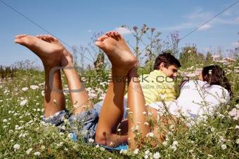 At summer